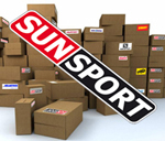 Штаны разминочные летние Sunsport черные утеплен