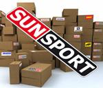 Куртка Sunsport разминочная летняя черная