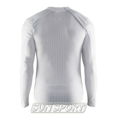 Термобелье Рубашка Craft M Active Extreme WS мужская белый (фото, вид 1)