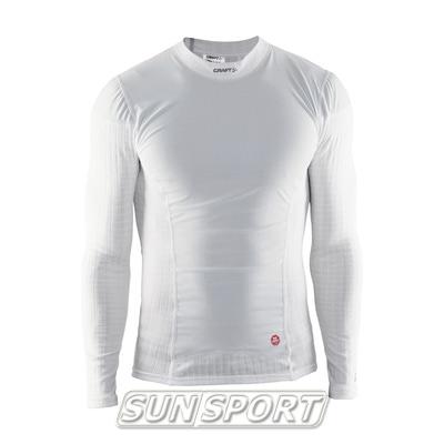Термобелье Рубашка Craft M Active Extreme WS мужская белый (фото, вид 2)