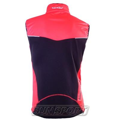 Жилет NordSki W Premium SoftShell женский красный (фото, вид 1)