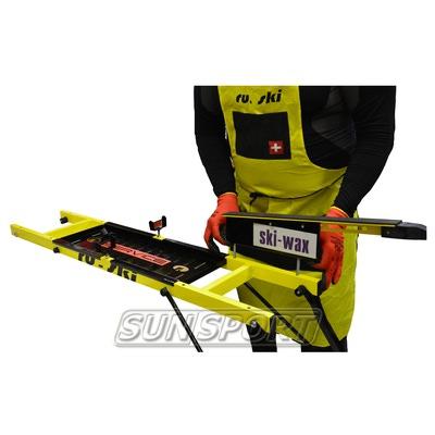 Станок для подготовки лыж Ru-Ski на ножках 2 лыжи (фото, вид 1)