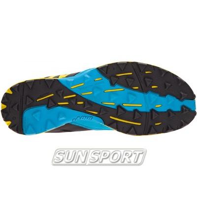 Кроссовки трейловые Inov Terraclaw 250 черн/голубой (фото, вид 3)