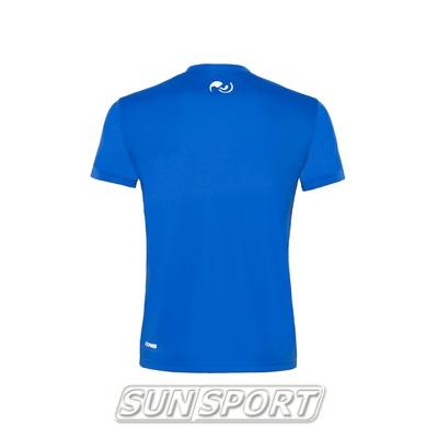 Футболка NordSki Active Blue (фото, вид 1)