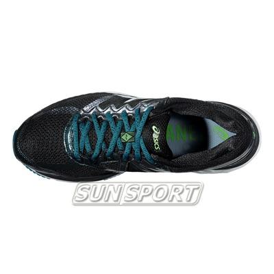 Кроссовки беговые Asics M GT-2000 4 Lite-Show зел/черный (фото, вид 2)