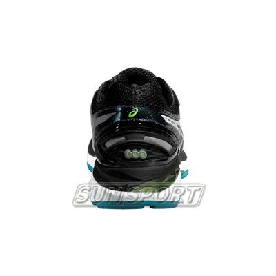 Кроссовки беговые Asics M GT-2000 4 Lite-Show зел/черный (фото, вид 3)