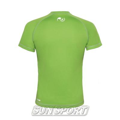 Футболка NordSki Active Green (фото, вид 1)