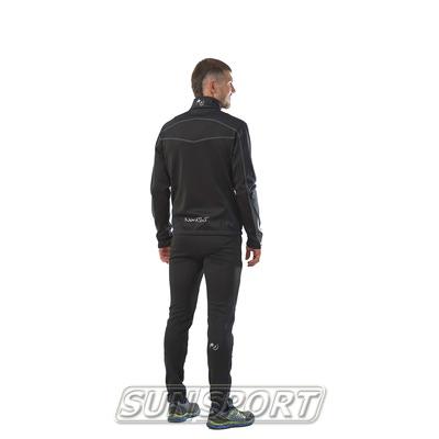 Разминочный костюм M Nordski SoftShell черн/серый (фото, вид 2)