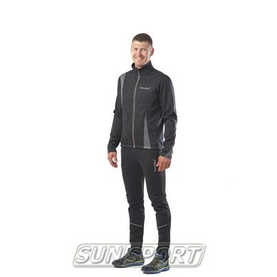 Разминочный костюм M Nordski SoftShell черн/серый (фото, вид 3)