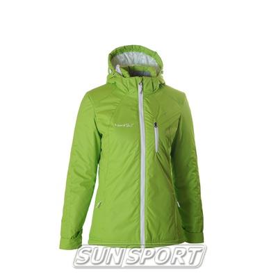 Утепленная куртка W Nordski лайм (фото, вид 1)