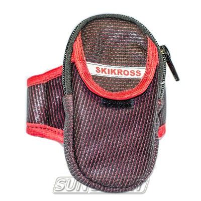 Чехол для телефона SkiKross на руку (фото, вид 1)