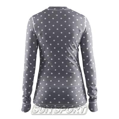 Термобелье Рубашка Craft W Mix&Match женская полька (фото, вид 1)