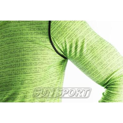 Термобелье Рубашка Craft M Mix&Match мужская салатовый (фото, вид 1)