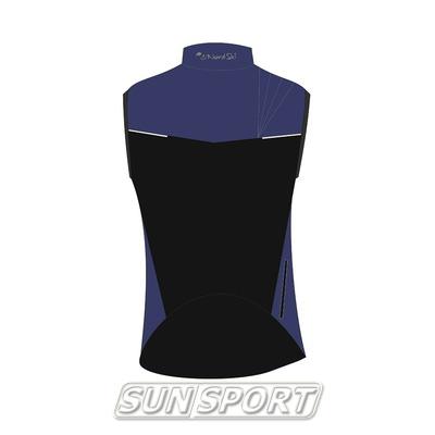 Жилет NordSki M Premium SoftShell мужской Navy (фото, вид 1)