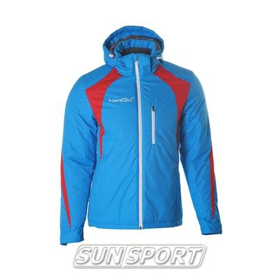 Утепленная куртка NordSki Active мужская син/черный (фото, вид 1)