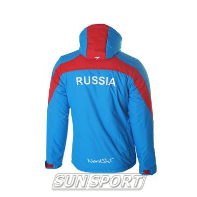 Утепленная куртка NordSki Active мужская син/черный (фото, вид 2)