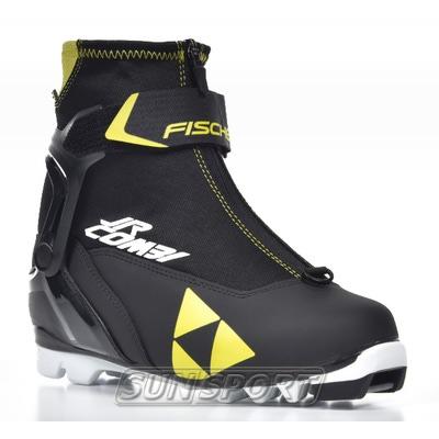 Ботинки лыжн. Fischer Junior COMBI (фото, вид 1)