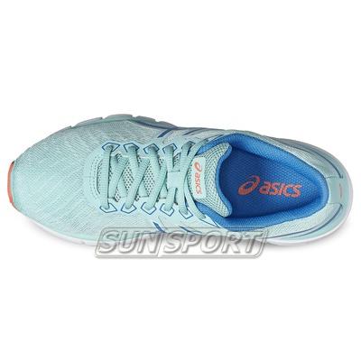 Кроссовки беговые Asics W Gel-Zaraca 5 син/голубой (фото, вид 3)