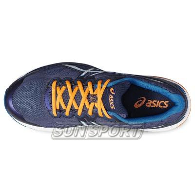 Кроссовки беговые Asics M GT-1000 5 оранж/синий (фото, вид 3)