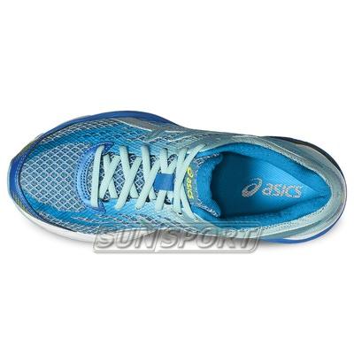 Кроссовки беговые Asics W Gel-Flux 4 син/голубой (фото, вид 3)
