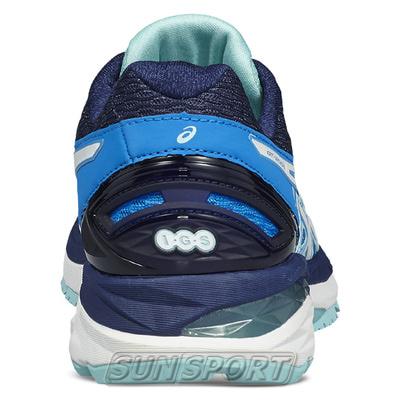 Кроссовки беговые Asics W GT-2000 5 син/бел/голубой (фото, вид 2)