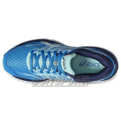 Кроссовки беговые Asics W GT-2000 5 син/бел/голубой (фото, вид 3)