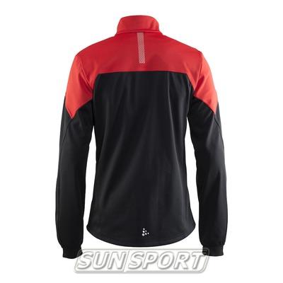Разминочная куртка Craft W Voyage мужская черн/красный (фото, вид 1)