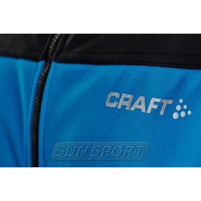 Разминочная куртка Craft M Voyage мужская син/черный (фото, вид 2)