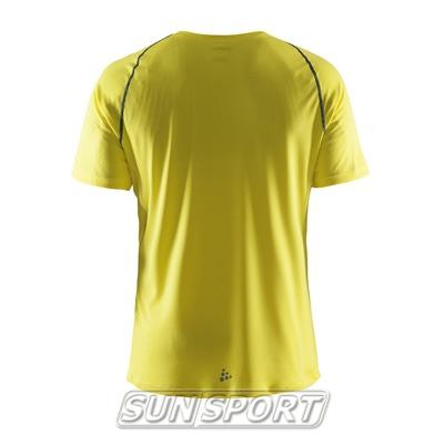 Футболка Craft M Active мужская желтый (фото, вид 1)