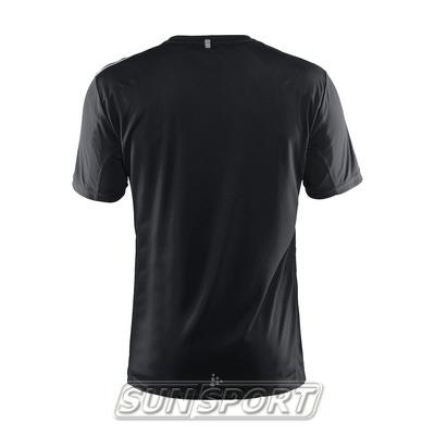Футболка Craft M Mind Run мужская черный (фото, вид 1)