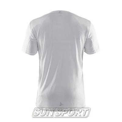 Футболка Craft M Mind Run мужская белый (фото, вид 1)