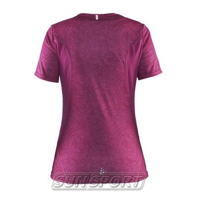 Футболка Craft W Mind Run женская розовый (фото, вид 1)