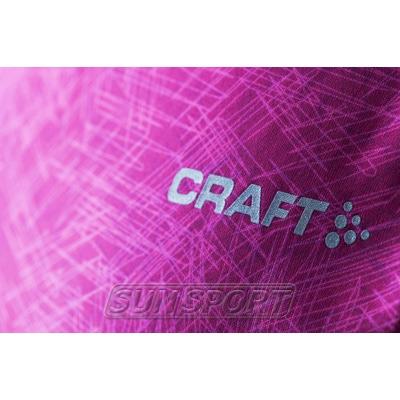 Футболка Craft W Mind Run женская розовый (фото, вид 2)