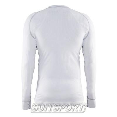 Термобелье Рубашка Craft M Zero мужская белый (фото, вид 1)