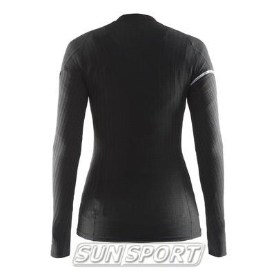 Термобелье Рубашка Craft W Pro Zero Extreme женская черный (фото, вид 1)