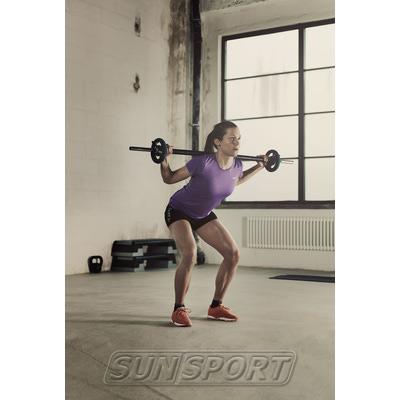 Шорты Craft W Pure Training женские черный (фото, вид 4)