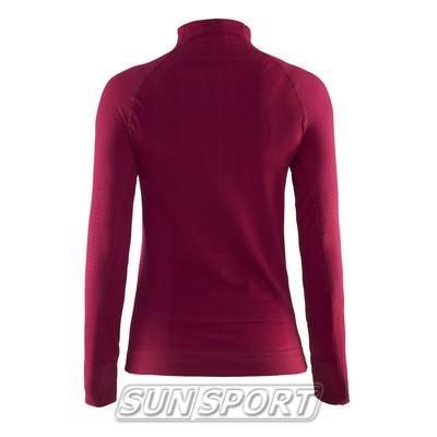 Термобелье Рубашка Craft W Warm женская рубин (фото, вид 1)