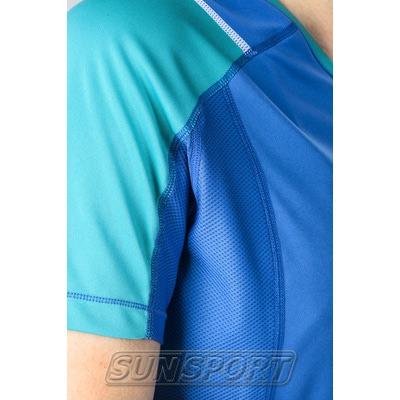 Футболка Craft W Devotion Run женская синий (фото, вид 2)