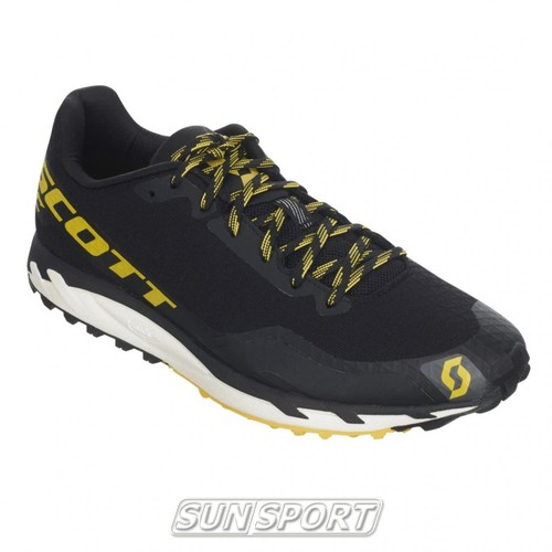 Кроссовки SCOTT Kinabalu RC black/yellow (фото, вид 3)