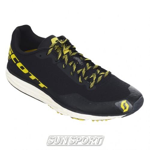 Кроссовки беговые Scott Palani RC black/yellow (фото, вид 1)