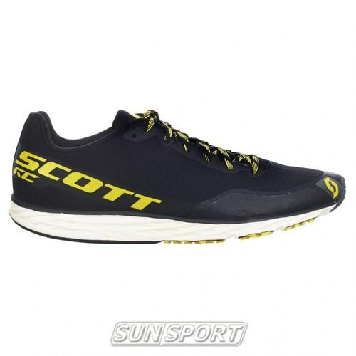 Кроссовки беговые Scott Palani RC black/yellow (фото, вид 3)