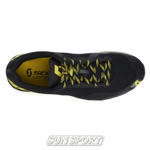 Кроссовки беговые Scott Palani RC black/yellow (фото, вид 4)