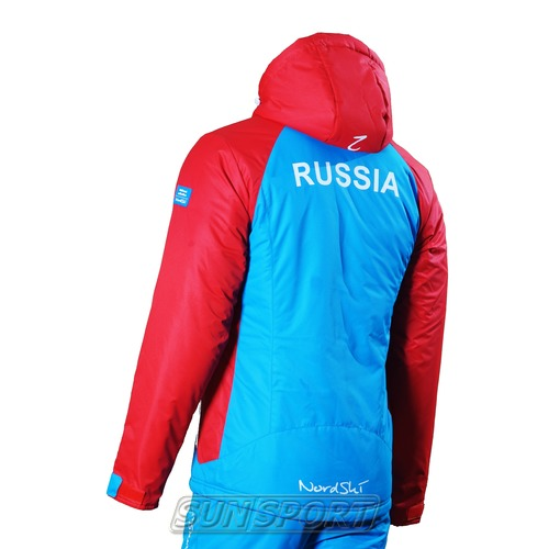 Утепленная куртка M Nordski National Blue (фото, вид 1)