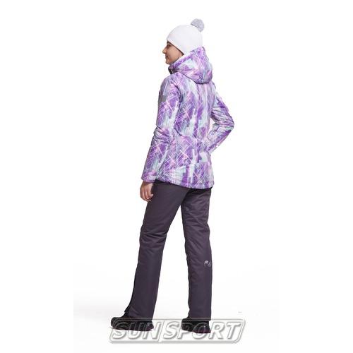 Утепленный костюм NordSki JR City детский Violet/Mint/Grey (фото, вид 1)