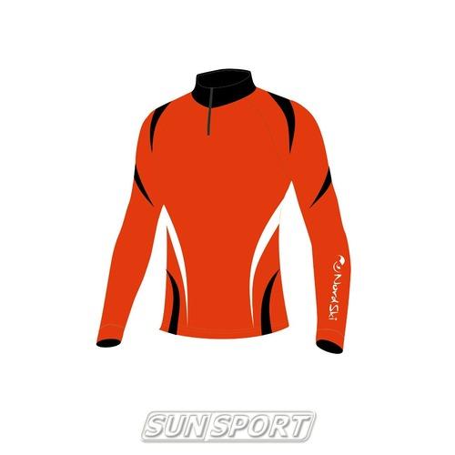 Комбинезон лыжный NordSki Premium красн/черный (фото, вид 1)