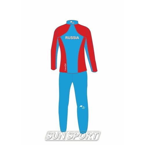 Разминочный костюм W Nordski SoftShell National Red (фото, вид 1)