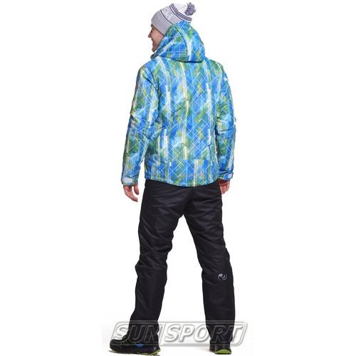 Утепленный костюм JR Nordski City Blue/Lime/Black (фото, вид 1)