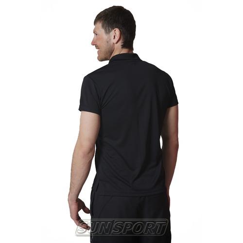 Футболка поло NordSki Active Black (фото, вид 1)