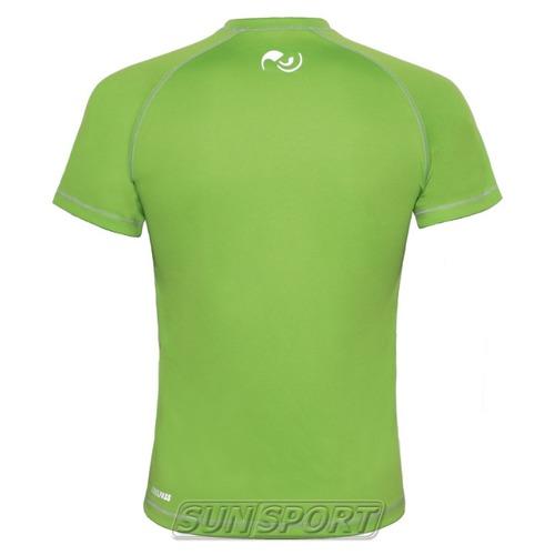 Футболка NordSki M Active мужская Green (фото, вид 1)