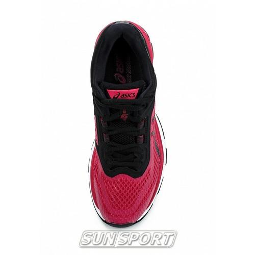 Кроссовки беговые Asics W GT-2000 6 (2A) черн/розовый (фото, вид 4)